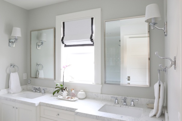 Bianco Carrara White Marble Bathroom