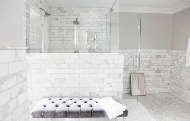 modern-style-white-marble-subway-tile-bathroom-with-interior-fabulous-glass-stall-bathroom-design-with-marble-subway-tiles-decor-and-classy-and-comfy-white-button-couch-collection-of-marble-bathroom-i